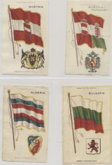 1910 S-35 National Flags & Arms Lot Of (29) 3 By 5 Inches  #*