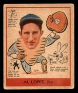 1938 Goudey R323 Heads Up #281 Al Lopez Excellent+
