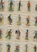 1914 SC10 Regimental Uniforms Of Canada Partial Sheet 40 of 55  #*