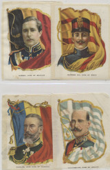 1914 SC9 Rulers With Flags Lot 19of 30  #*