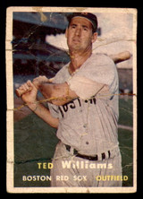 1957 Topps #1 Ted Williams Poor