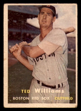 1957 Topps #1 Ted Williams Very Good  ID: 320444