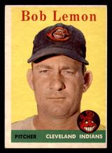 1958 Topps #2 Bob Lemon UER Excellent+  ID: 320516