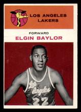 1961-62 Fleer #3 Elgin Baylor G-VG RC Rookie