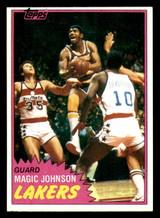 1981-82 Topps #21 Magic Johnson Near Mint  ID: 320603
