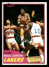 1981-82 Topps #21 Magic Johnson Ex-Mint  ID: 320604