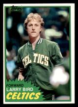 1981-82 Topps #4 Larry Bird Near Mint+  ID: 320606