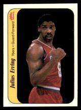 1986-87 Fleer Stickers #5 Julius Erving NM-Mint  ID: 320625