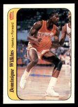 1986-87 Fleer Stickers #11 Dominique Wilkins NM-Mint  ID: 320629