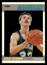 1987-88 Fleer #97 Detlef Schrempf NM-Mint RC Rookie  ID: 320636