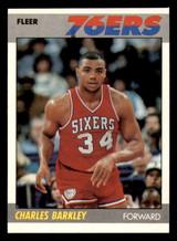1987-88 Fleer #9 Charles Barkley Near Mint