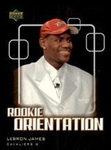 2003-04 Upper Deck Victory #101 Lebron James NM-Mint RC Rookie SP