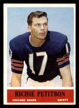 1964 Philadelphia #23 Richie Petitbon Ex-Mint  ID: 320667