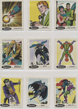 1978 DC Super  Heroes Stickers Langendorf Bread 18/30  #*Tougher Of the 3 Sets