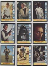 1977 Wonder Bread Star Wars Set 16 Best Set #*#