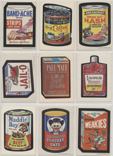 1973 Topps Wacky Packages Series 1 White Back 25/30 & Complete Puzzle  #*