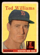 1958 Topps #1 Ted Williams G-VG  ID: 320763