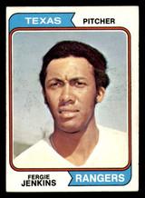 1974 Topps #87 Fergie Jenkins Excellent+