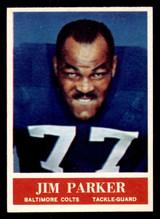 1964 Philadelphia #8 Jim Parker Near Mint  ID: 320955