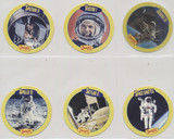 """1992 Denny's Promo The Jetsons Space cards """"Mission Crews"""" Set 6 Disc #13 To  #18  NO BOX #*"""
