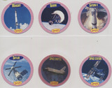 """1992 Denny's Promo The Jetsons Space cards """"Mission Rockets"""" Set 6 Disc #25 To  #30  NO BOX #*"""