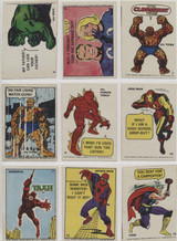 1967 Philly Marvel Comics Superheroes Stickers 34/66  #*