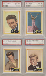 1960 Fleer Spins And Needles PSA Graded Set 80 Cards  GPA 8.49 NM-MT+  #*