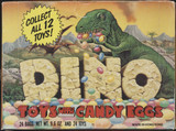 1988 Topps Dino Toys With Candy Eggs 24 Bags In Box  #*