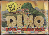 1988 Topps Dino Toys With Candy Eggs Empty Display Box  #*
