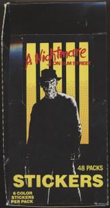 1984 Comic Image A Nightmare On Elm Street Wax Box 48 Unopened Packs  #*