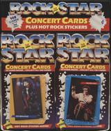 1985 Edition Rock Star Concert Wax Box 24 Packs  #*