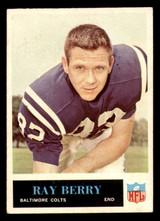 1965 Philadelphia #2 Raymond Berry G-VG