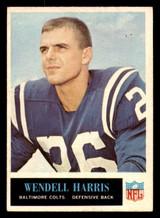 1965 Philadelphia #4 Wendell Harris Excellent+  ID: 321244