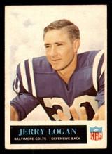 1965 Philadelphia #5 Jerry Logan Excellent