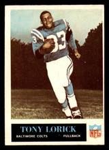 1965 Philadelphia #6 Tony Lorick Very Good