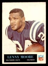 1965 Philadelphia #8 Lenny Moore Excellent