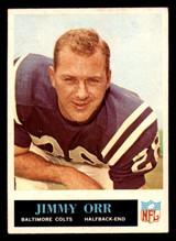 1965 Philadelphia #9 Jimmy Orr Excellent+  ID: 321251