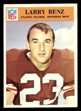 1966 Philadelphia #2 Larry Benz Ex-Mint  ID: 321375