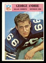 1966 Philadelphia #54 George Andrie UER Near Mint RC Rookie  ID: 321432