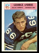 1966 Philadelphia #54 George Andrie UER Ex-Mint RC Rookie  ID: 321433