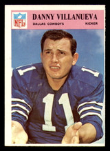 1966 Philadelphia #64 Danny Villanueva Ex-Mint  ID: 321439