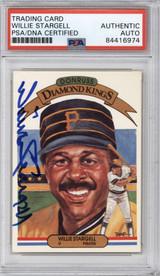 1983 Donruss #8 Willie Stargell PSA/DNA Auto Signed Diamond Kings Pirates Encapsulated