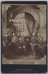1860's To 1870's President Lincoln & Union Commanders 4 3/16 by 6 1/2 Inches  #*