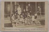 1881 General U. S. Grant And Family At Mt. McGregor June 19, 1885  #*