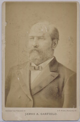 1870's To 1880.s Cabinet James A. Garfield By J F Ryder Cleveland  #*