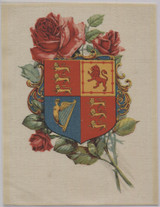 1915 ITC SC2a Premium Silk Shield Of Arms Of Great Britain 4 3/4 by 6 1/4Inches  #*