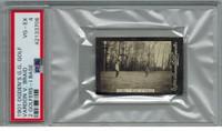 1901 Ogden Cigarette Card Guinea Gold Golf - I Base  Vardon v Braid  2 Golfers At Eltham  PSA 4 VG-EX  #*