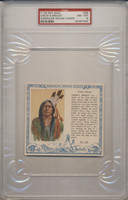 1954 Red Man Tobacco T129 American Indians Chiefs Set 40 PSA Graded GPA 7.00 NM  #*