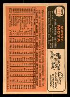 1966 Topps #112 Manny Mota Very Good