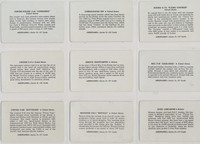 1940's Leaf Brand Inc R112-5 Card-O Aeroplane Series D Set 27 Plus 1 Variation  #*
